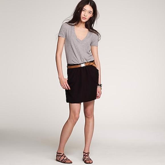 J. Crew Dresses & Skirts - J Crew Black Drapey Drexel Plissé Skirt